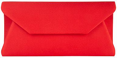 Alexon Envelope Clutch, Red