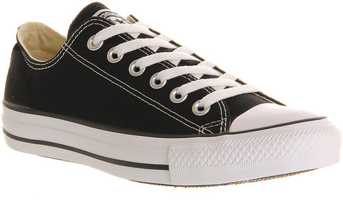 Converse Converse All Star Low Black Canvas - Unisex Sports