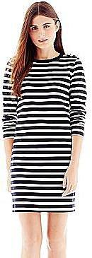 Joe FreshTM Epaulette-Shoulder Striped Dress