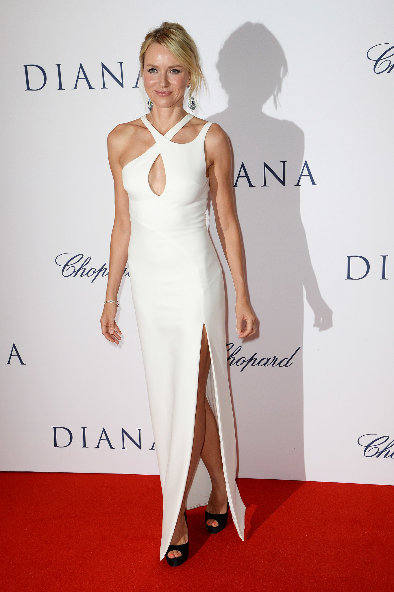 Naomi Watts Makes Her Royal Arrival at the Diana World Premiere