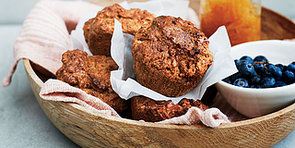 Gwyneth Paltrow's Sweet Potato + Five-Spice Muffins