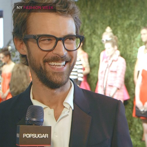 Brad Goreski Interview at New York Fashion Week Spring 2014