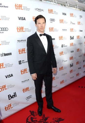Benedict Cumberbatch kept things classy at the premiere of The Fifth Estate.