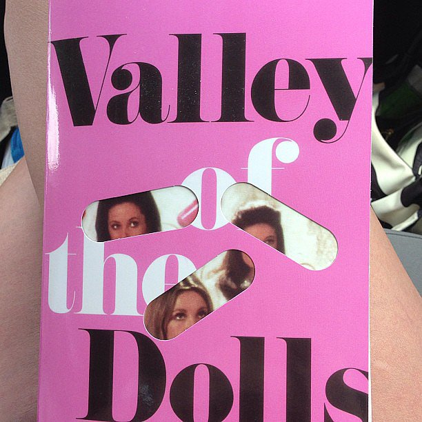 Its_just_jodi shared her weekend reading, Valley of the Dolls.