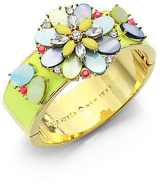 Kate Spade New York Multicolor Flower Bracelet