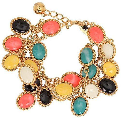 Kate Spade New York - Roped In Triple Row Bracelet (Multi) - Jewelry