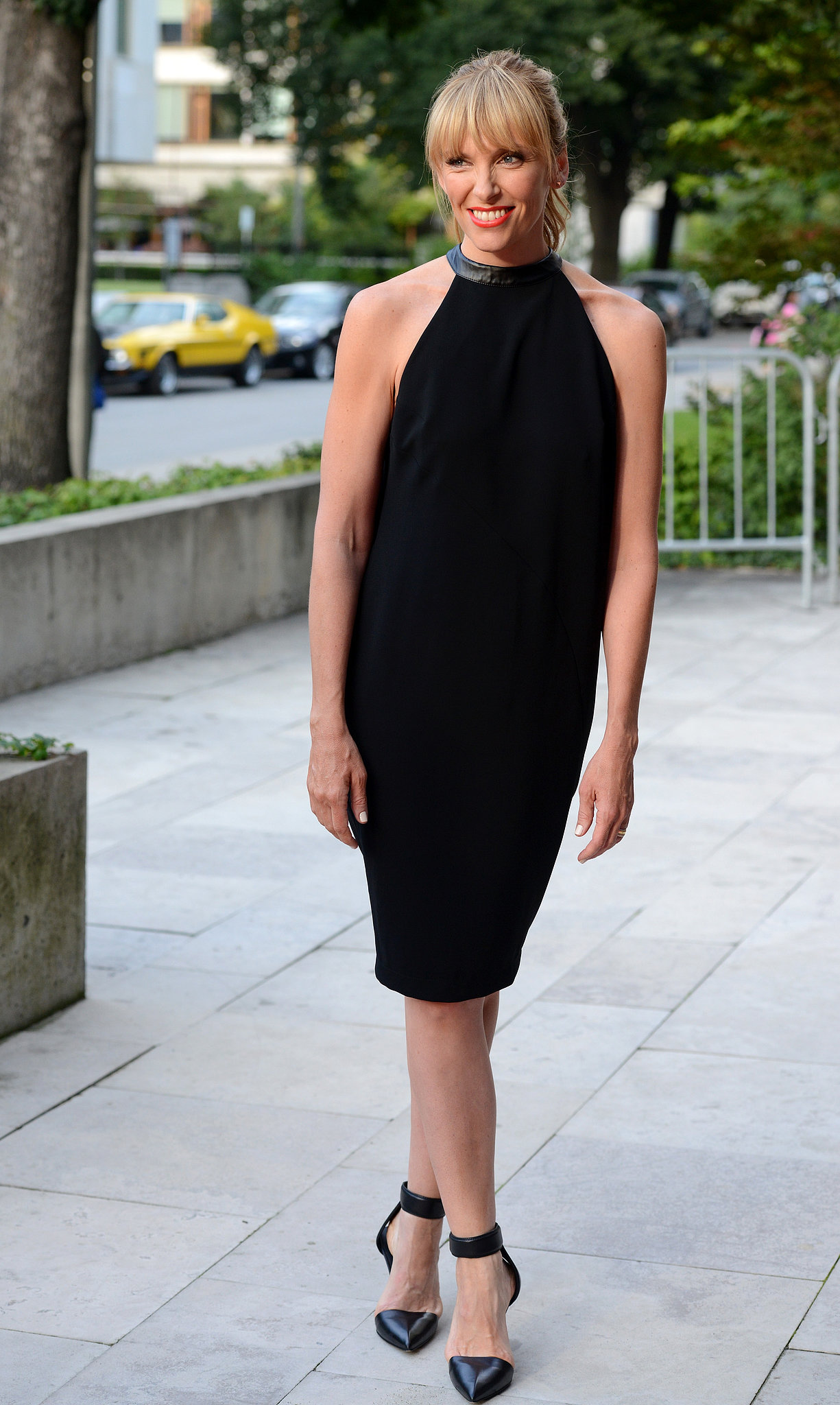 Toni Colette looked stunning at the Lucky Them event.
