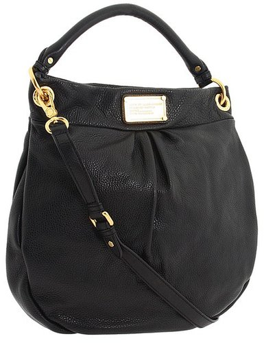 Marc by Marc Jacobs - Classic Q Hillier Hobo (Black) - Bags and Luggage