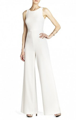 BCBG HELENA SLEEVELESS JUMPSUIT