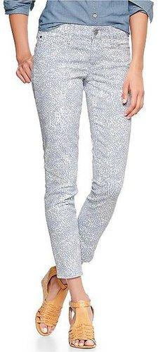 1969 Printed Always Skinny Skimmer Jeans