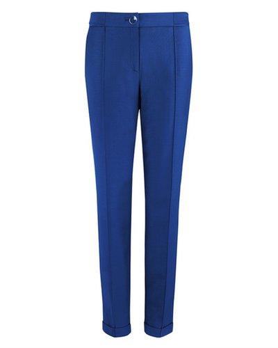 DEOLI Tailored shiny peg leg trouser