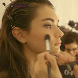 Backstage Beauty at Hervé Léger 2014 Spring NYFW
