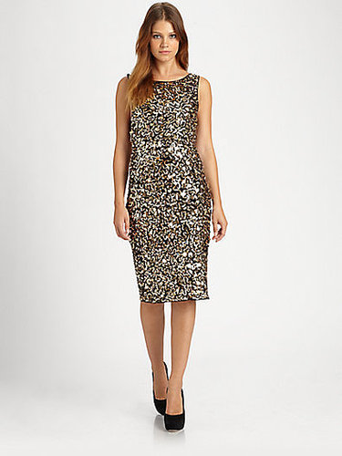 Alice + Olivia Nance Sequin Dress