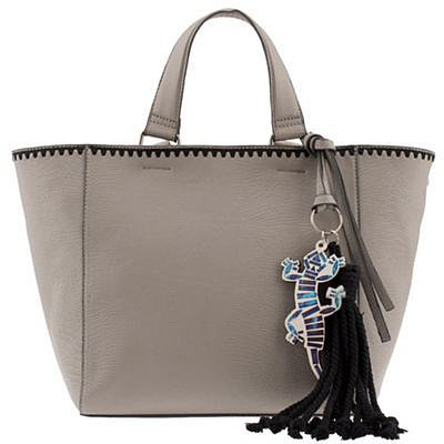 Grey jungle winter shopper