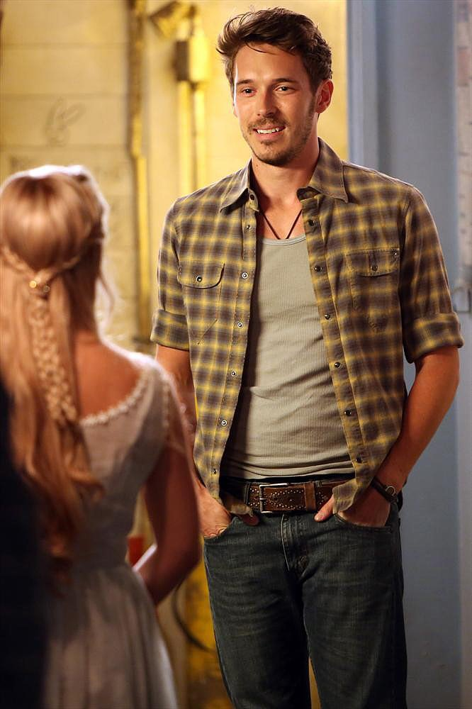 Nashville Sam Palladio on the season premiere of Nashville.