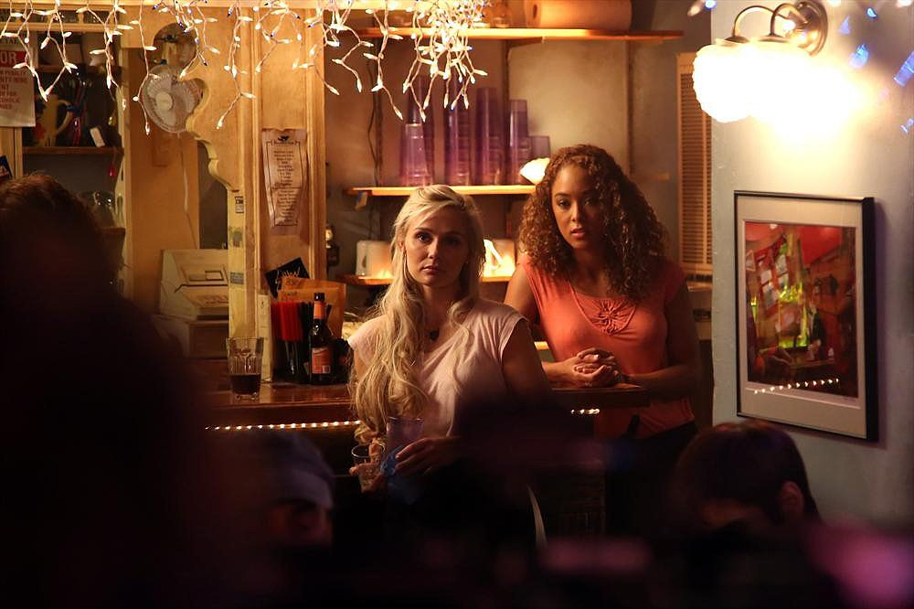 Clare Bowen and Chaley Rose on Nashville.
