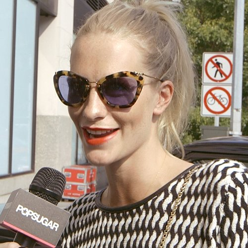 2014 New York Fashion Week Interview With Poppy Delevingne