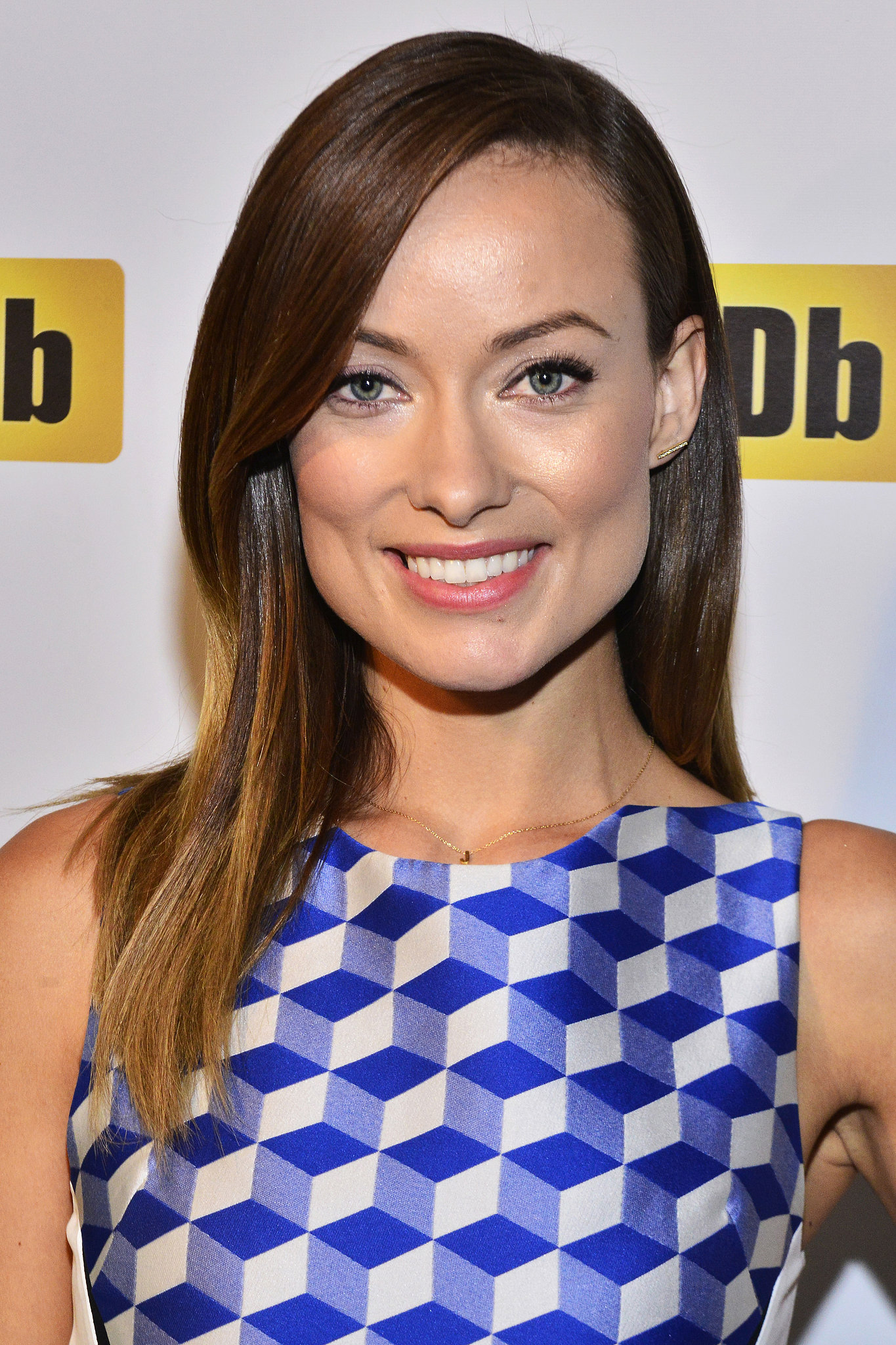 To receive IMDb's first-ever STARmeter Award, Olivia Wilde went with straight hair and a pretty eyeliner look.