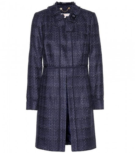 Tory Burch Roseann tweed coat