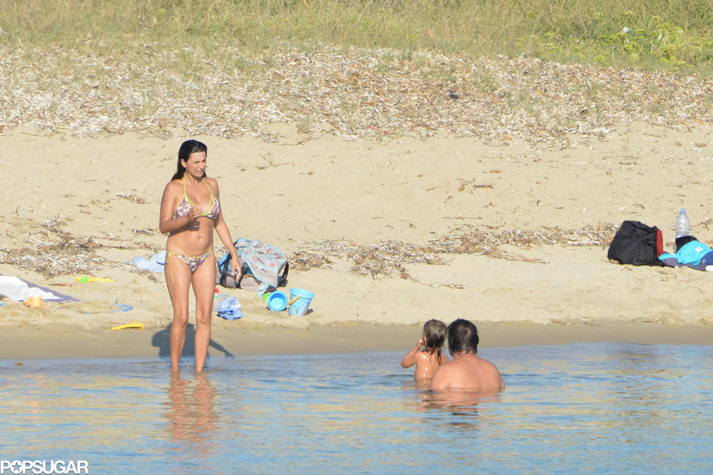 Penélope Cruz broke out her bikini for a recent beach vacation in Corsica with her husband, Javier Bardem, and their family.