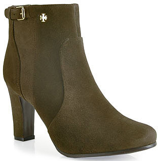 Tory Burch - Milan - Suede Bootie in Grey