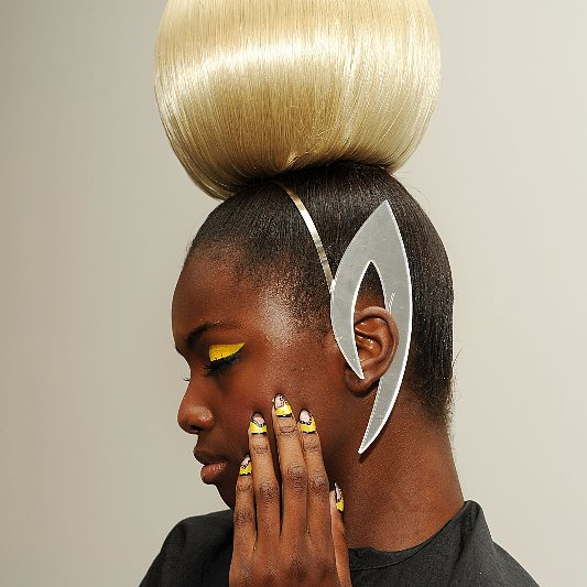 The Blonds Spring 2014 Hair and Makeup   Runway Pictures