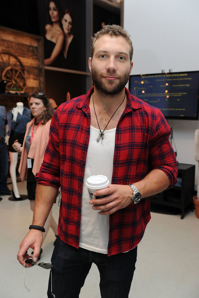 Jai Courtney attended the Guess Portrait Studio.