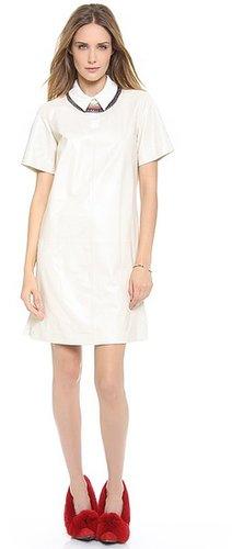 Cynthia rowley Combo Polo Dress