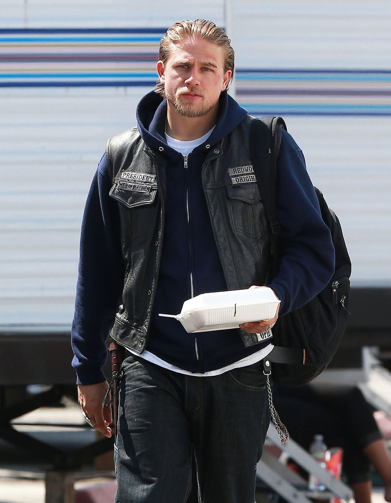 Charlie Hunnam Is Back on Set After Speaking Out About Fifty Shades