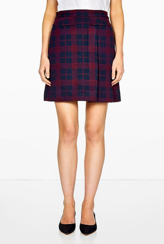 Marc by Marc Jacobs Maya Plaid Jacquard Skirt