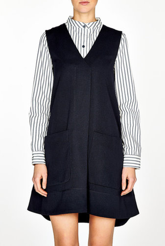 Marc by Marc Jacobs Wool Pinafore Dress
