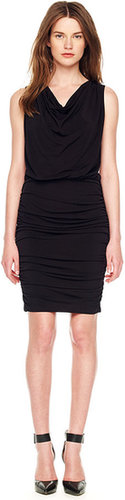 Michael Kors Ruched Jersey Dress