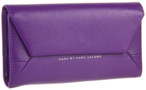 Marc by Marc Jacobs - Updated Tangram Phone Wristlet (Cosmic Purple) - Bags and Luggage