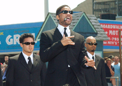Will Smith performed at the MTV Beach House in Seaside Heights, NJ, for TRL in 2002.