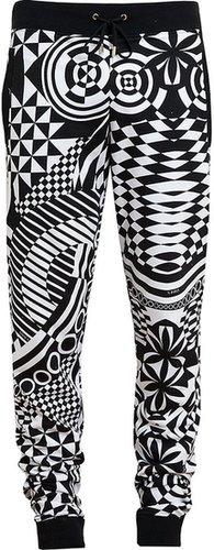 Versus Geometric Printed Cotton Sweatpants