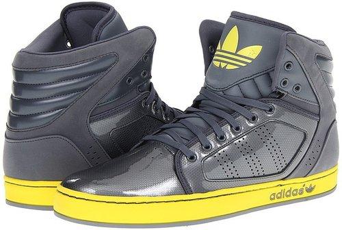 adidas Originals - adi High EXT (Lead/Vivid Yellow) - Footwear