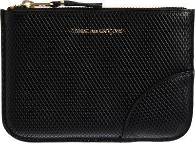 Comme des Garçons Luxury Leather Small Zip Pouch