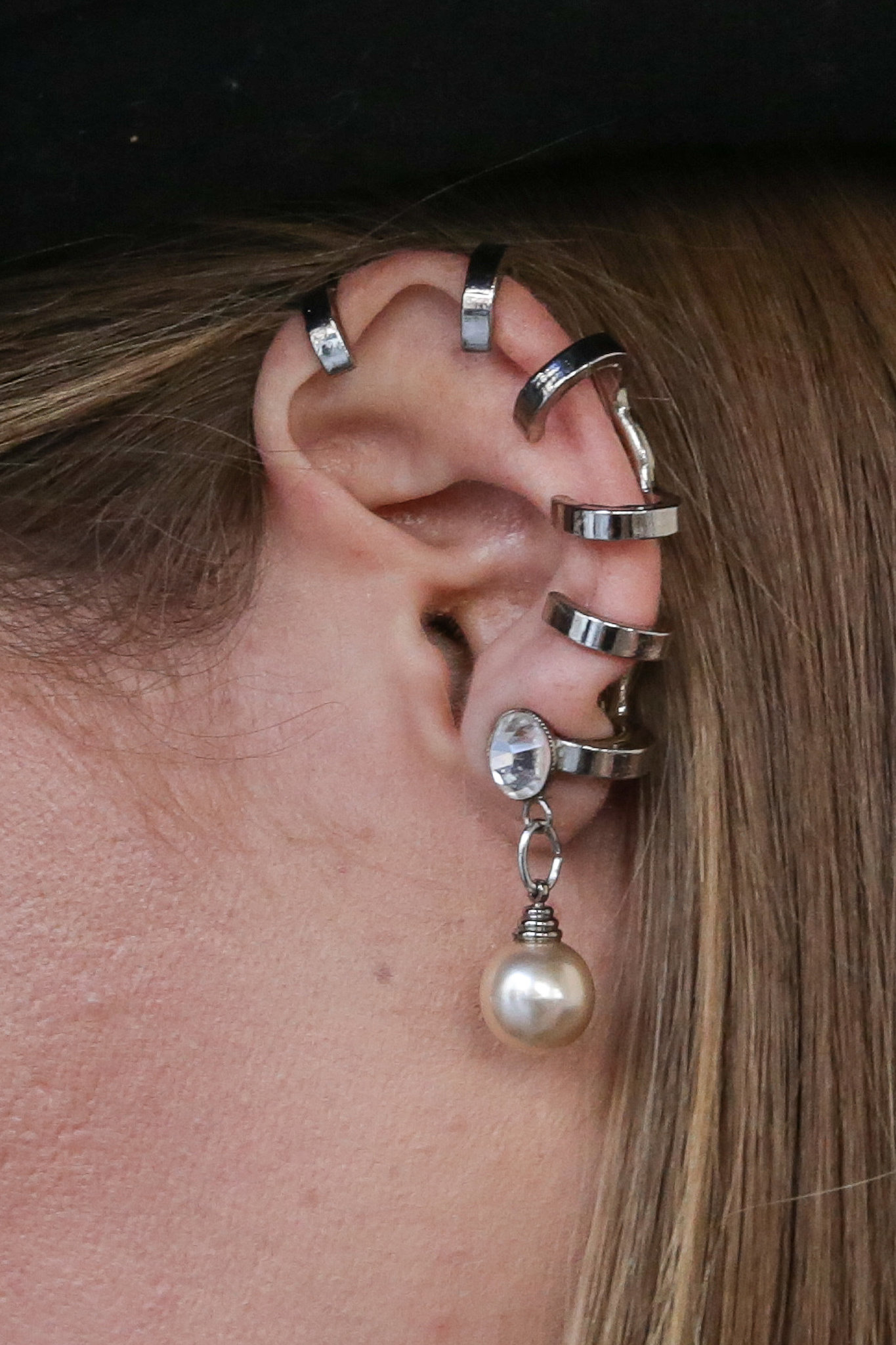 An army of ear cuffs.