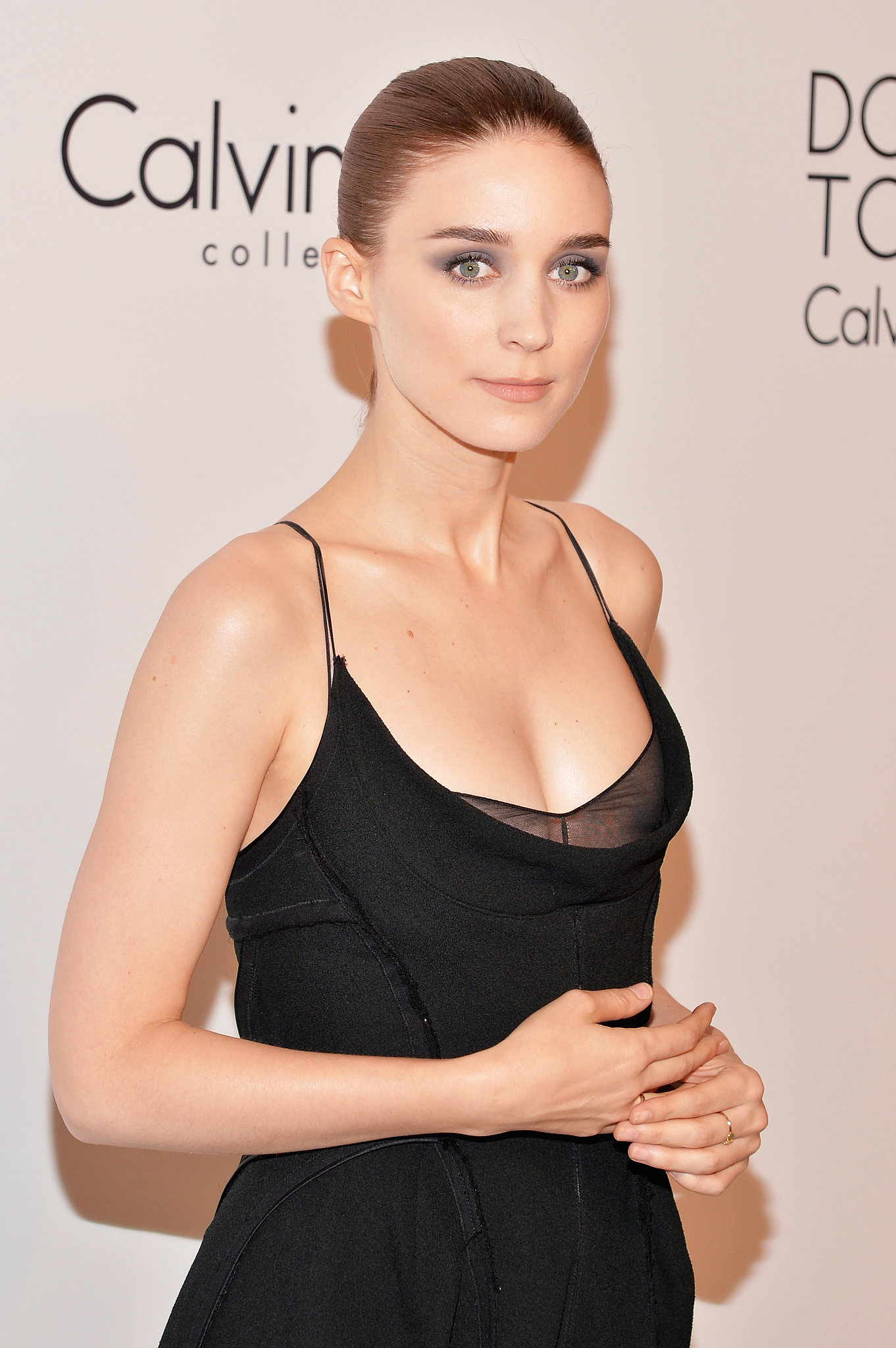 Rooney Mara at the Calvin Klein Collection Post Show Event.