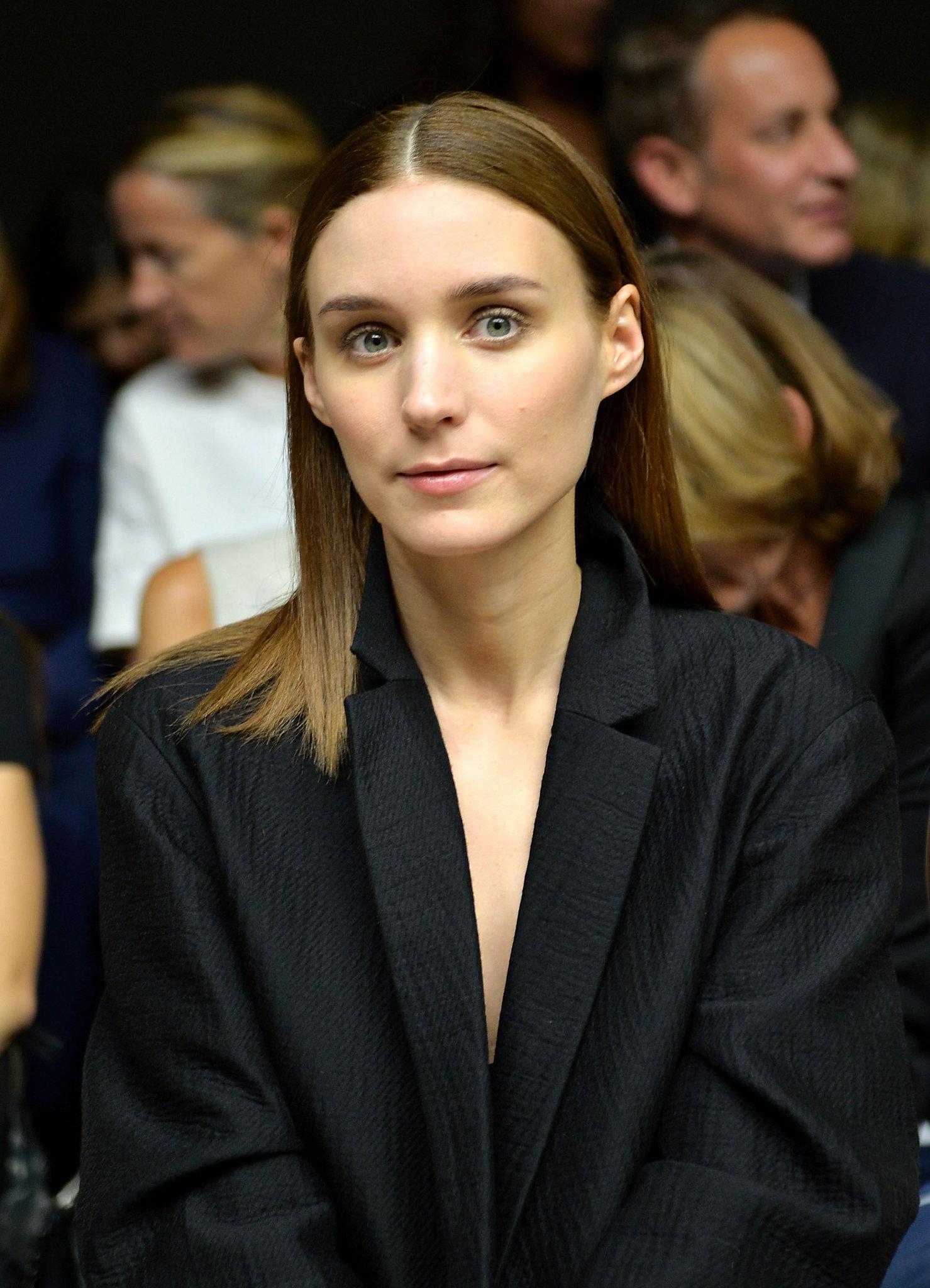 Rooney Mara at Calvin Klein Spring 2014.