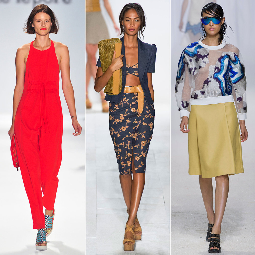 New York Spring 2014 Fashion Trends