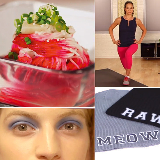 Ombré Noodles, NYFW Beauty, and a DIY Beanie: The Best of POPSUGARTV This Week