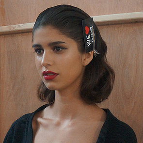 House of Holland Spring 2014 Hair and Makeup | Runway