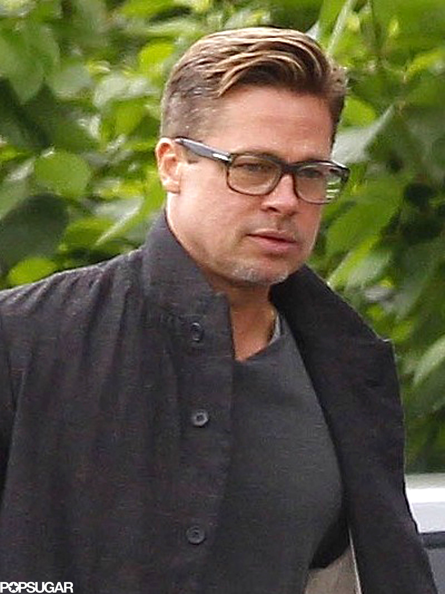 Brad Pitt Is Seriously Sexy With Short Hair!