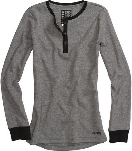 Burton Henley Shirt - Long Sleeve (For Women)