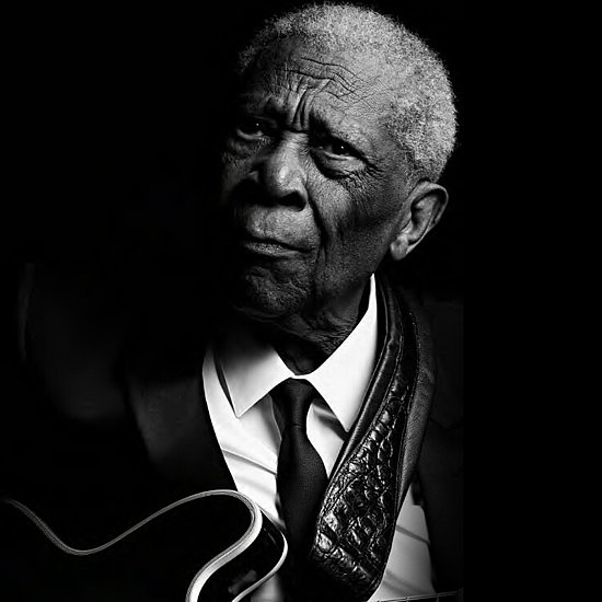 BB King Stars in Saint Laurent Music Project Campaign