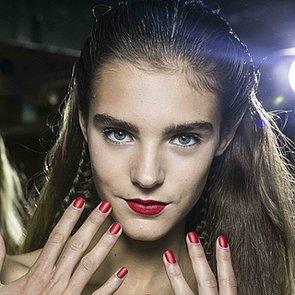 Antonio Berardi Spring 2014 Hair and Makeup Runway Pictures
