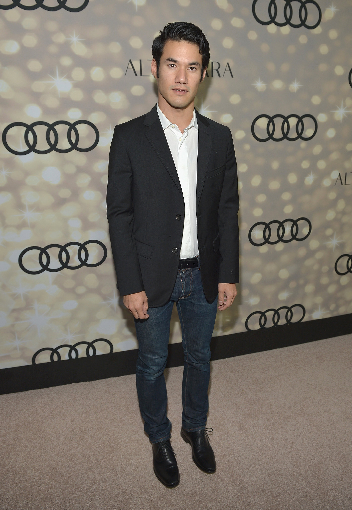 Joseph Altuzarra kicked off the Emmy festivities with Audi in West Hollywood.