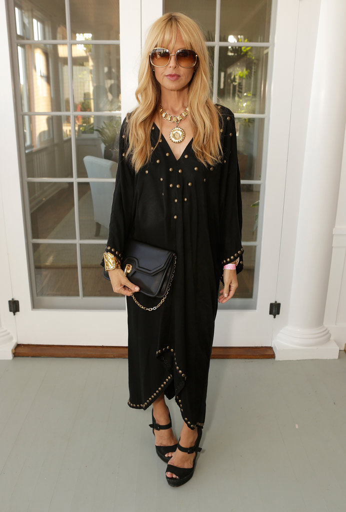 Rachel Zoe rocked with Eddie Vedder and Zach Galifianakis at their Malibu fundraiser.