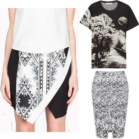 Shop Monochrome Floral Prints